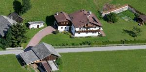 Vista aerea di Ferienhaus-Grünfelder