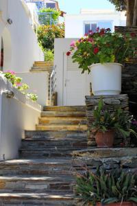 Terrasse ou espace extérieur de l'établissement Villa Nefeli