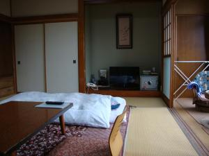 A television and/or entertainment center at Ikoi Sanso