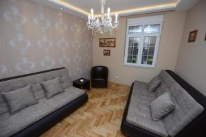 The lounge or bar area at Belgrade Central Zone Apartments