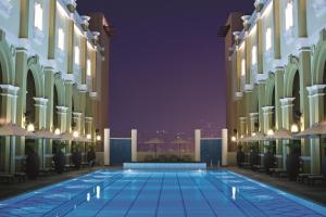 Poolen vid eller i närheten av Oaks Ibn Battuta Gate Dubai