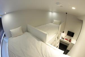 たびやホテルにあるベッド