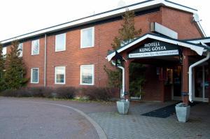 The facade or entrance of Hotell Kung Gösta