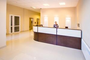The lobby or reception area at Apartments Alt Platz