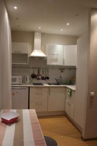 A kitchen or kitchenette at Apartment-2 on Pravda 40