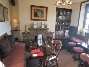 The lounge or bar area at Pack Horse Inn