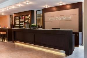 The lobby or reception area at IntercityHotel Essen
