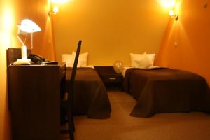 A restaurant or other place to eat at Vnukovo Hotel Moscow