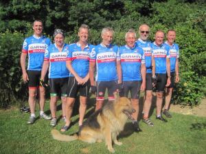 Staff members at Bedbreakfastbikespyrenees
