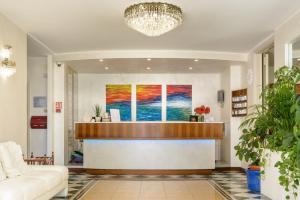 Vstupní hala nebo recepce v ubytování Hotel Croce Di Malta