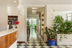 Lounge nebo bar v ubytování Hotel Croce Di Malta