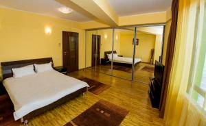 O cameră la Apartment Hotel Tania Residence
