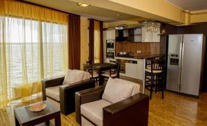 Zona de lounge sau bar la Apartment Hotel Tania Residence