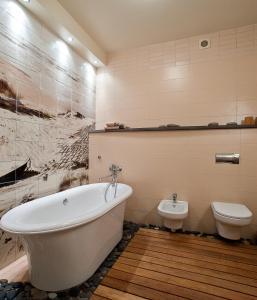 A bathroom at Villa Morskoye