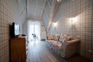 A seating area at Villa Morskoye