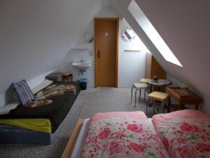 Ein Zimmer in der Unterkunft Gaststätte und Pension Skiklause