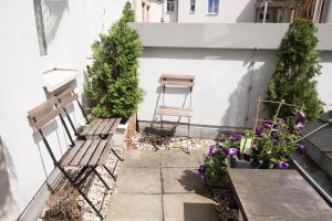Ein Patio oder anderer Außenbereich in der Unterkunft Altstadt Suite