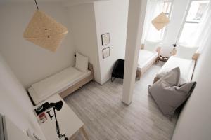 Ein Sitzbereich in der Unterkunft Altstadt Suite