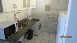 A bathroom at Sky apartamento II