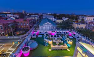 A bird's-eye view of Grand Bohemian Hotel Charleston, Autograph Collection