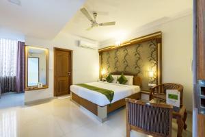 A room at Treebo Trend Akshaya Lalbagh Inn