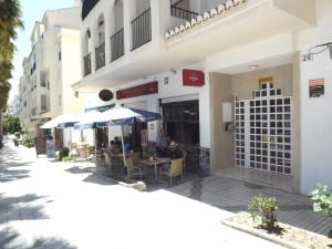 A porch or other outdoor area at Apartamento En Almuñecar