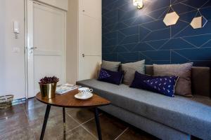 A seating area at La Casa Nissarte