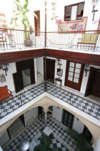 A balcony or terrace at Palacio San Bartolomé