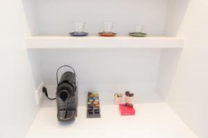 A kitchen or kitchenette at Villa Emilia