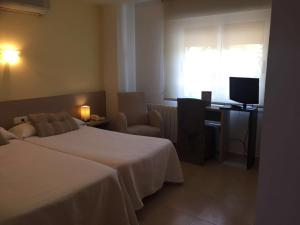 Una habitación en Hotel Felix