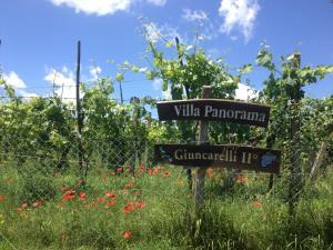 Certificat, récompense, panneau ou autre document affiché dans l'établissement Agriturismo Villa Panorama