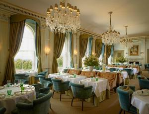 A restaurant or other place to eat at Cliveden House