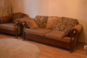 Гостиная зона в Apartment Gorkogo 37 2х комнатные