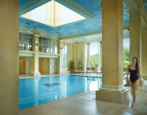 The swimming pool at or near Chewton Glen Hotel