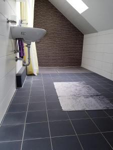 Ein Badezimmer in der Unterkunft Ferienzimmer Jasna