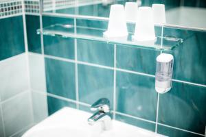 Kúpeľňa v ubytovaní Hotel Kert