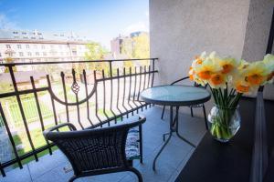 Balkón alebo terasa v ubytovaní Hotel Kert