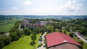 A bird's-eye view of Hotel Sonnenhügel