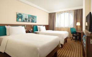 A room at Hampton by Hilton Saint-Petersburg ExpoForum