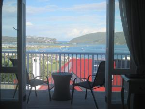 A balcony or terrace at Westhill Luxury Guest House
