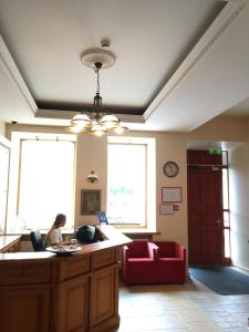 Vestibiulis arba registratūra apgyvendinimo įstaigoje Alexa Old Town