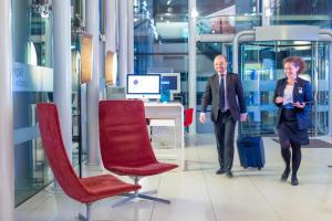 The lobby or reception area at Novotel London Paddington