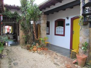 A porch or other outdoor area at Pousada Solar do Algarve
