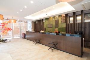 The lobby or reception area at Hotel Vista Premio Kyoto