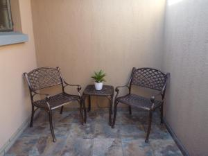 A seating area at Mahudzi Guest House