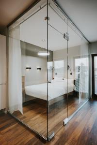 Łazienka w obiekcie Mia Apartments