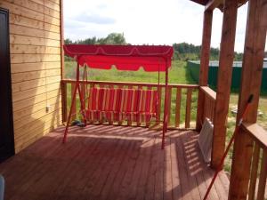 Патио или другая зона на открытом воздухе в Дом для отдыха Зальцо