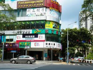 The facade or entrance of Guangzhou Boman Apartment Zhengjia Huanshi Branch