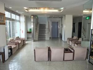The lounge or bar area at Hotel New Takahashi Kouyadai