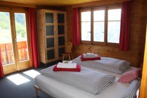 Ein Zimmer in der Unterkunft Pension Alpenblick